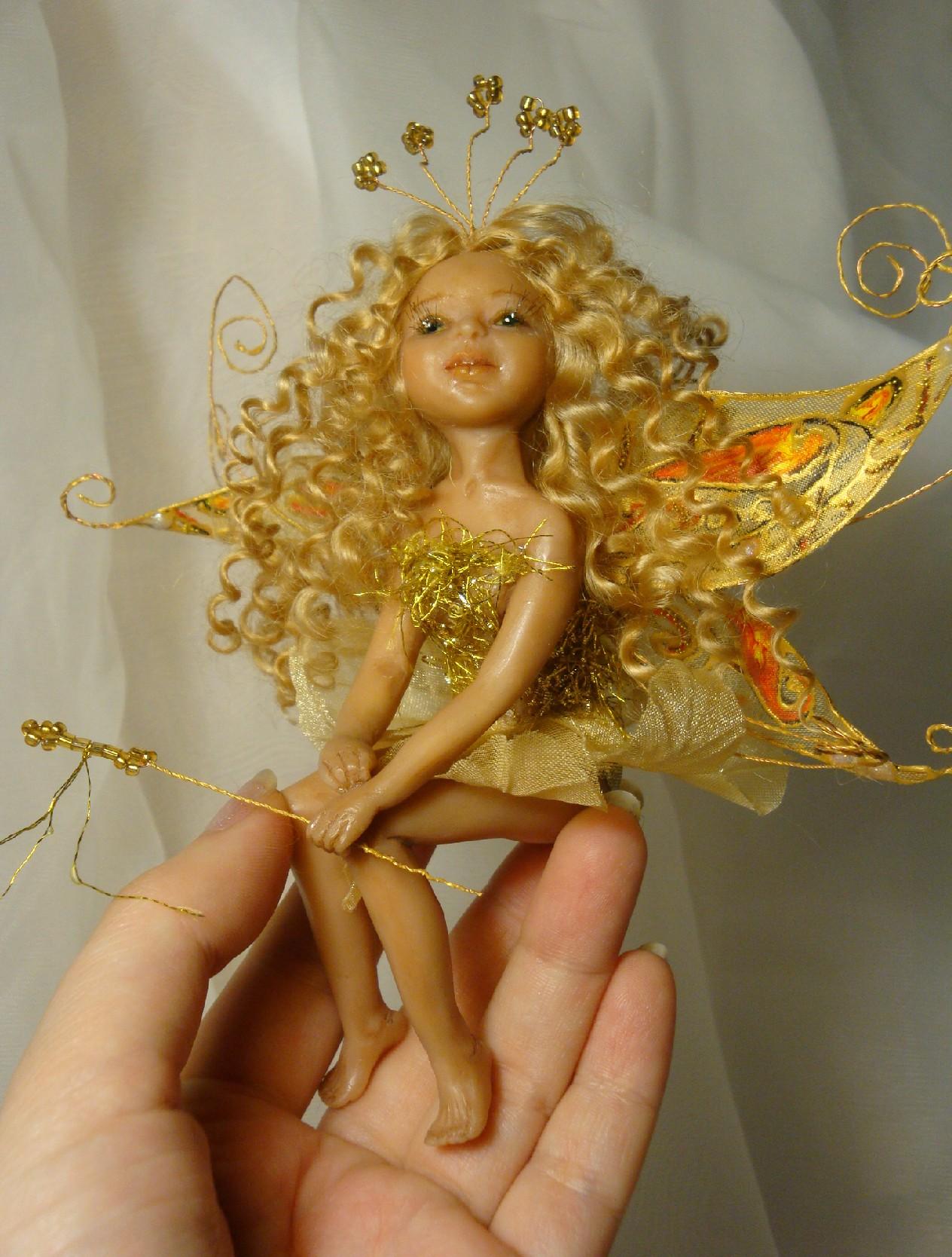 Как сделать куклу-фею из ниток своими руками (пошагово) 33 15